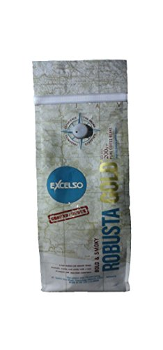 Excelso Robusta Gold Coffee Factory Ground 200 Gram (7.05 Oz) Pouch (200g Gift)
