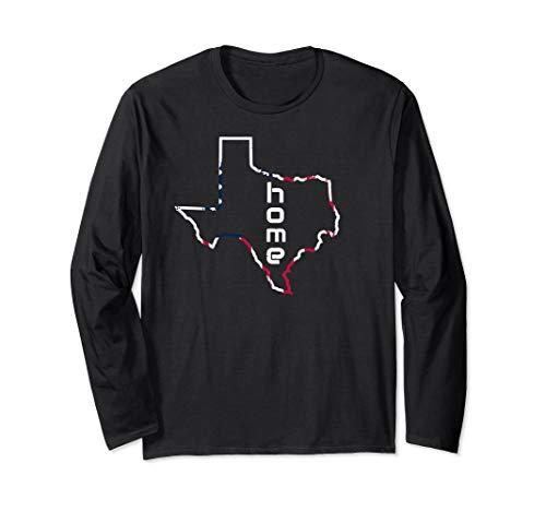 Texas Pride Tee USA America  Long Sleeve -