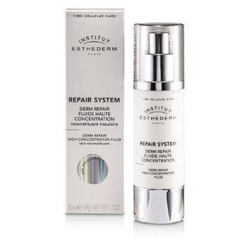 Esthederm Institut Repair System Derm Repair High Concentration Fluid 1.7 Ounce MISSAMMY 2.5mm Interchargeable Head 1200 Micro Needle Derma Roller Body Therapy For Acne Scar Freckle