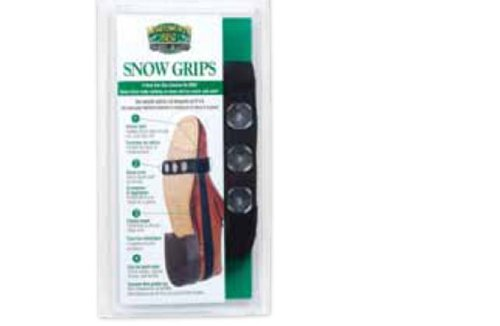 Moneysworth and Best Snow Grips, Black, One size fits all Moneysworth & Best 28450