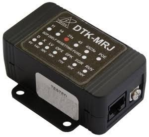 DITEK DTK-MRJ45SCPLV 8 PIN 8 WIRE MODULAR IN AND OUT