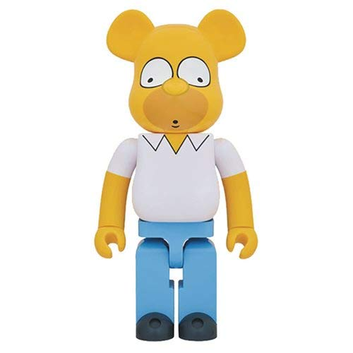Medicom Toy Bearbrick Be@rbrick The Simpsons HOMER SIMPSON 400% 28cm Figure 2018