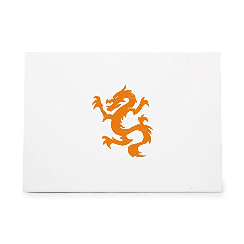 Dragon 348 Style 1767 Rubber Stamp Shape great for Scrapbooking, Crafts, Card Making, Ink Stamping Crafts
