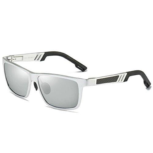 Gafas Personalidad Party Pilot Naranja silvery Uv400 Moda Amarillo Beach Hombre Confort Deportes LANZHI Sol de Color Clásico Candy Driving Super dqxX8TXw