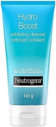 Neutrogena Hydro Boost Exfoliating Face Scrub - Hyaluronic Acid and AHA - Gel Cream Face Cleanser - Non-Comedo