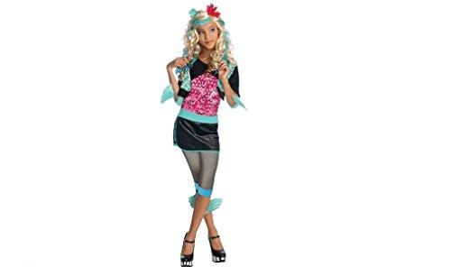Monster High Lagoona Blue Kids Costume, Small - Monster High Costumes Lagoona Blue