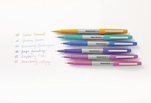 Paper Mate Flair Felt Tip Pens, Ultra Fine Point (0 4mm), Limited Edition  Candy Pop Pack, 6 Count