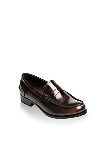 British Passport-Penny loafer brown-Homme