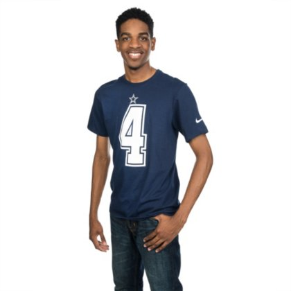 0821ded035b Image Unavailable. Image not available for. Color: Dallas Cowboys Dak  Prescott #4 Nike Player Pride Tee