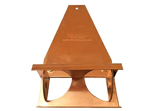 (Copper Snow Guard, The Original for Metal, Slate, Shingle, Tile Roofs (Box of 50) )