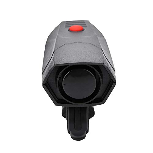 VGEBY Bike Horn, Electronic Bicycle Handlebar Ring Alarm Warning Bell with Support and Screwdriver by VGEBY
