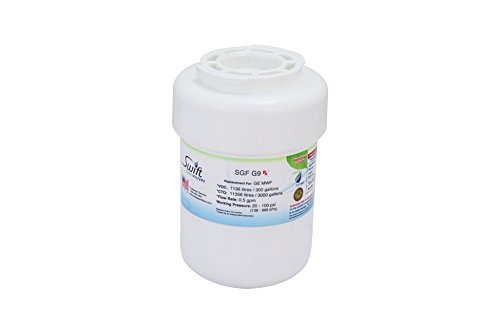 Swift Pharmaceutical Water Filter(SGF Rx) SGF-G9 Rx GE MWF also Fits Amana Compatible Refrigerator Water Filter