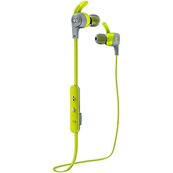 b02e65d4a12 Monster iSport Achieve Wireless in-Ear Sweat-Proof Bluetooth Sport  Headphones, Green (137088-00)