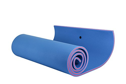 Price comparison product image OUTROAD Floating Mat 18' X 6' - Recreational Floating Foam Pad For Adults and Kids (Blue)- Lily Pad used in Ocean / Lake