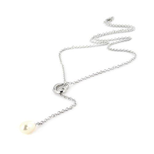 Tousmesbijoux Collier Argent 925/00 perle d'eau douce