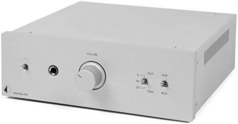 Pro Ject Head Box Rs Highend Kopfhörer Verstärker Silber