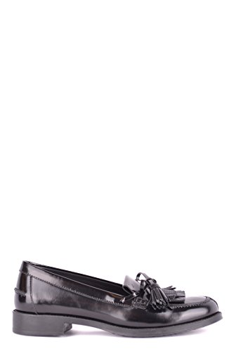 Tod's Women's Mcbi293237o Black Leather Loafers by Tod's
