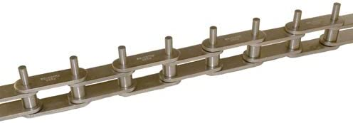 Attachment Chain One Extended Pin Riveted D-3 Attachment 304 Stainless Steel Material C2052SS // 1-1//4 in Pitch