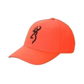 Gorra de seguridad color naranja 3D Browning (30840501)