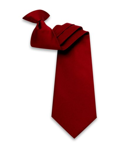 Poly Solid Clip On Tie product image