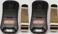 Genie G1T-BX Intellicode 1 Button Mini Keychain Remote 38501R (1 Pack) ()