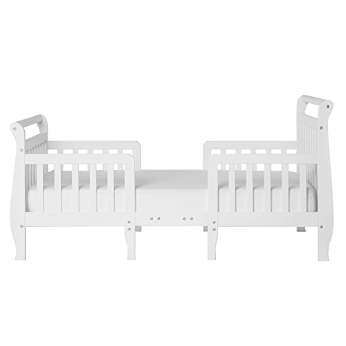Dream On Me Emma 3 In 1 Convertible Toddler Bed White