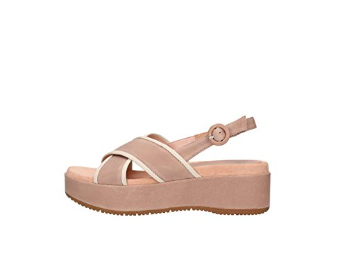 Women Powder Unisa Sandals Balsa Wedge Hw68Op