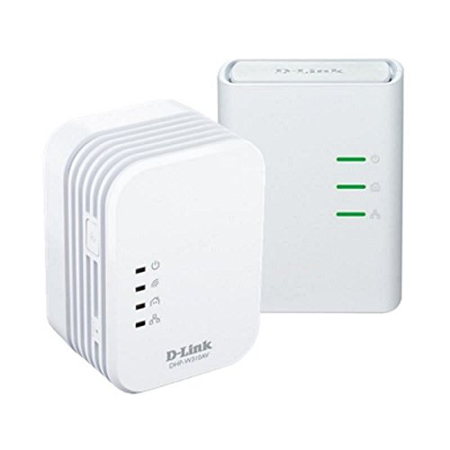 D-LINK DHP-W311AV PowerLine AV 500 Wireless N Mini Starter Kit by D-link