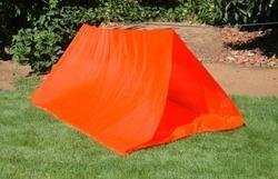 Guardian 2-Person Emergency Tube Tent with Rope (Set of 5)