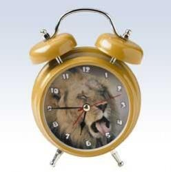 Mark Feldstein Wacky Wakers Lion Alarm Clock