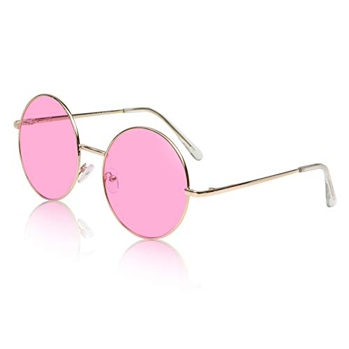 Vintage Sunglasses Gold Classic 60's 60s Womens Oversized Glasses For Hot ()
