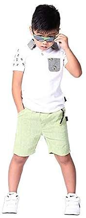 Jojo Fashionable Short Sleeve Polo & Shorts