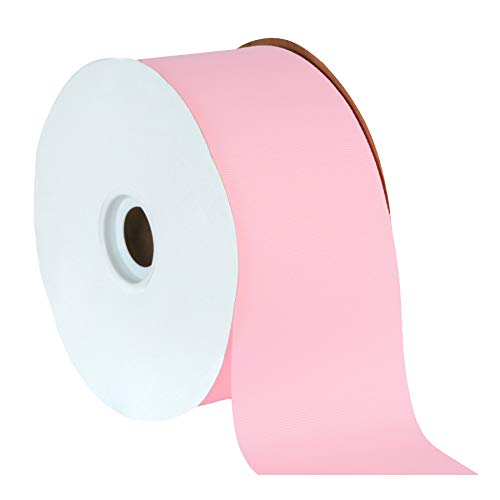 Offray Light Pink Grosgrain Ribbon - Berwick Offray 3