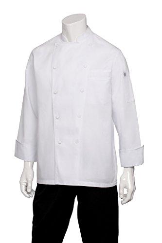Executive Chefs Jacket (Chef Works Men's Cambridge Executive Chef Coat, White, Large)