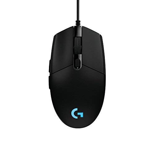 G203 Prodigy RGB Wired Gaming Mouse - Black(Renewed) (Logitech G100 Gaming Keyboard And Mouse Combo)
