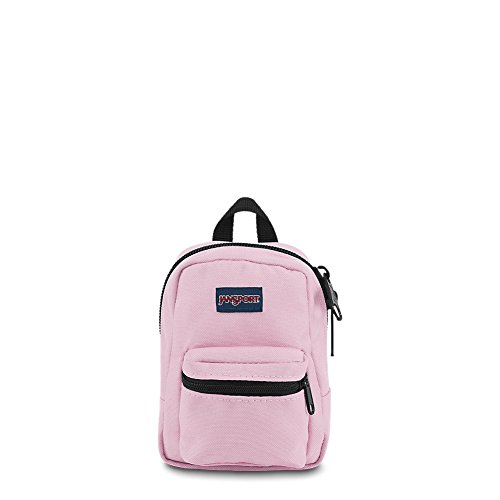 - JanSport JS0A32TT3B7 Lil' Break Pouch, Shady black/pink