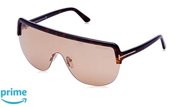 c7368e38c7 Sunglasses Tom Ford FT 0560 Angus- 02 52E dark havana brown at Amazon Men s  Clothing store