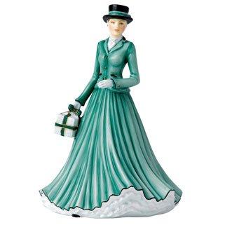 royal doulton ladies christmas - 5