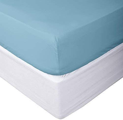 "Soft Fitted Sheet 1000 Thread Count 100/% Cotton 14/"" Deep Pocket"