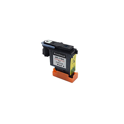 INKMATE 1 PACK Remanufactured 11 C4810A Printhead Black for 11 11 Printhead For Inkjet1000 1100 2230 2280 2280tn 2300 2300dtn 2600 2600dt 1100dtn ()