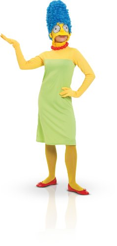 Ladies Marge Simpson Fancy Dress Halloween Party Costume Large The Simpsons ()