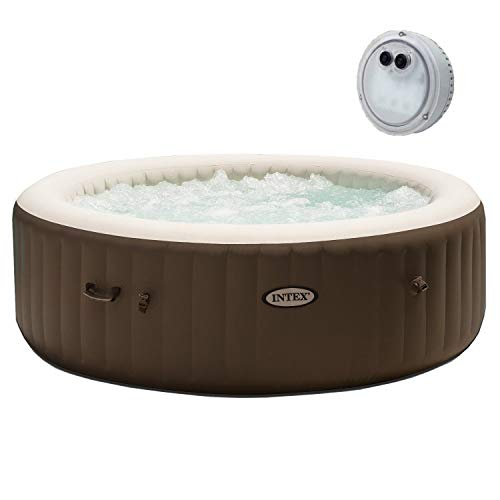 Intex Pure Spa 6 Person Portable Inflatable Bubble...