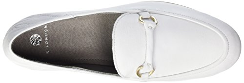 Hudson London Arianna Calf - Mocasines Mujer Weiß (white)