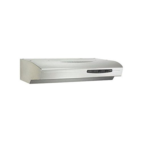 Broan QS130SS  220 CFM Under Cabinet Hood, 30-Inches, Stainless Steel by Broan