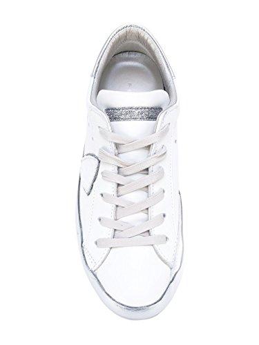 Philippe Model Women's CELDVL10 White Leather Sneakers fzU9l2p