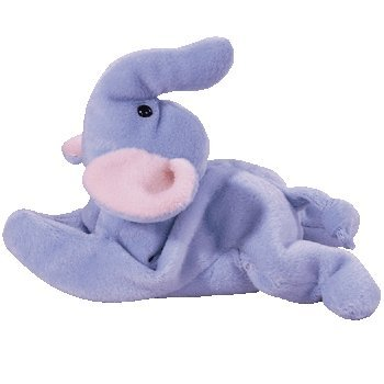 Ty Beanie Babies - Peanut the Light Blue Elephant