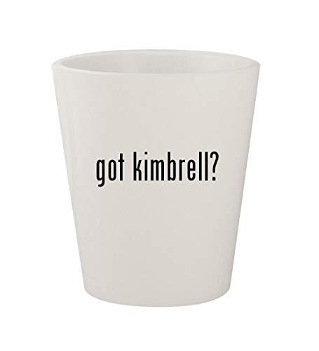 - got kimbrell? - Ceramic White 1.5oz Shot Glass