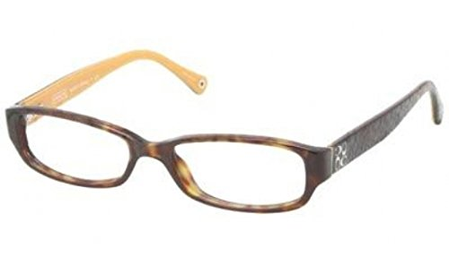 94b7dad2ce9 Coach Emily Eyeglasses HC6001 5055 Dark Tortoise Demo Lens 50 15 - Womens Coach  Eyeglasses