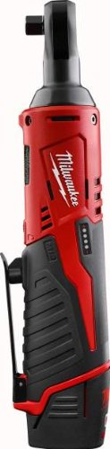 [Milwaukee 2457-21 3/8-in Cordless M12 Lithium-Ion Ratchet Kit] (Ratchet Wrench Kit)