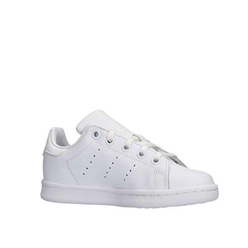 adidas Stan Smith, Zapatillas Unisex Niños Blanco (Footwear White/footwear White/footwear White)